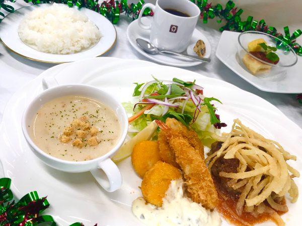 12月洋食ランチ
