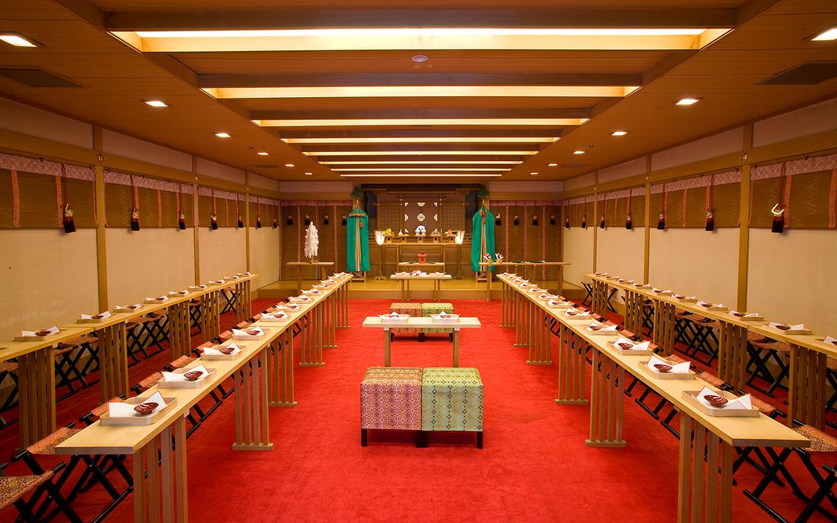 結婚式 神殿挙式