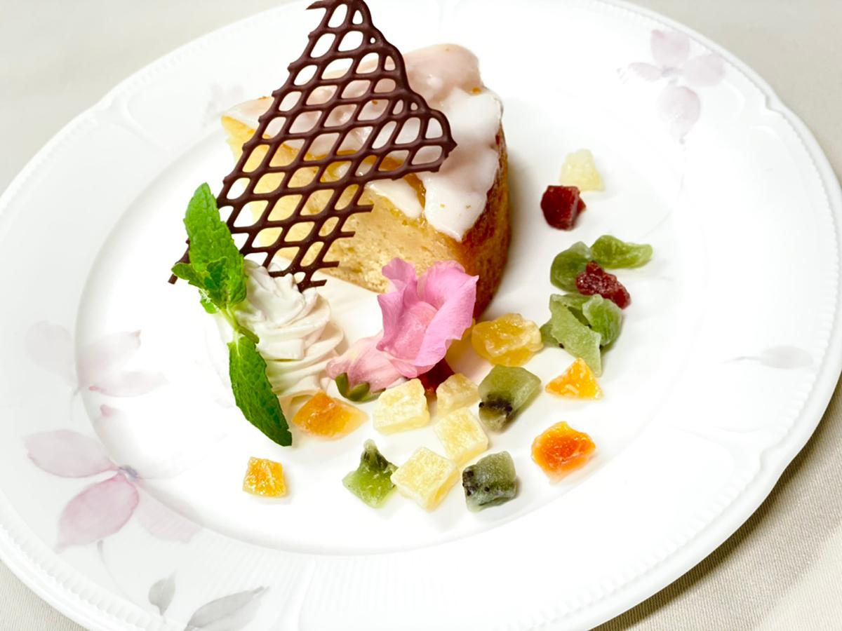 2021 津山鶴山ホテル特製 レモンケーキ